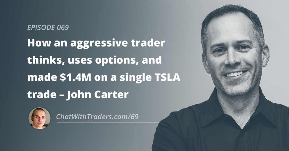 John carter trading etf options